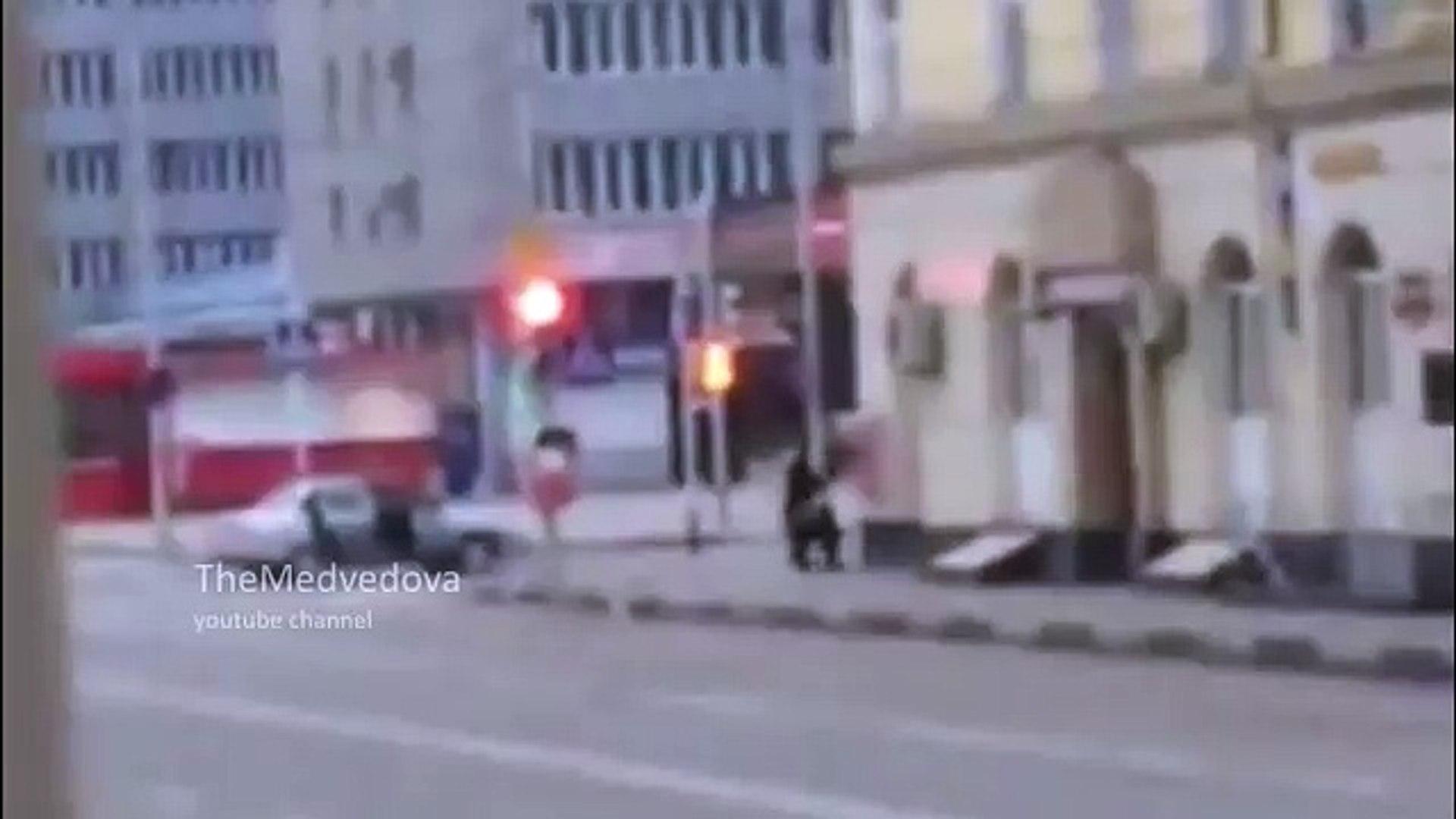 Грозный стрельба в центре утро / Grozny shooting at the center