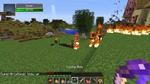 Minecraft: LUCKY WEAPONS! (LUCKY SWORD & BOW ATTACKS!) Lucky Block Mod Showcase