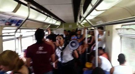 Metrô de Belo Horizonte recebe ação de conscientização contra a dengue