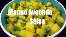 Mango Avocado Salsa - Tortilla Dip