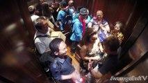 Kissing Prank In Elevator (GOES CRAZY) - Funny Videos 2015 , Elevator Prank   Couple Kissing in the Elevator Prank