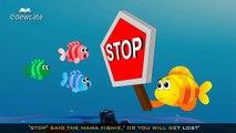 Edewcate english rhymes - Three Little Fishies Nursery Rhyme