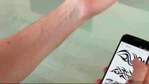 Switch your tattoo anytime you want. This E-ink Tattoo Puts a Tattoo on Your Skin.