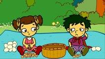 Le pique-nique au village de Geni - Dessin animé éducatif Genikids