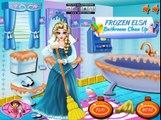 Disney Frozen Games - Frozen Elsa Bathroom Clean Up – Best Disney Princess Games For Girls And Kids