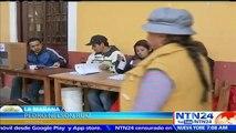 Primeros sondeos muestran el No como ganador en el referendo reeleccionista en Bolivia