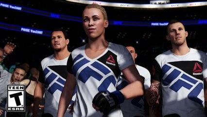 Trailer Mode Carrière de EA Sports UFC 2