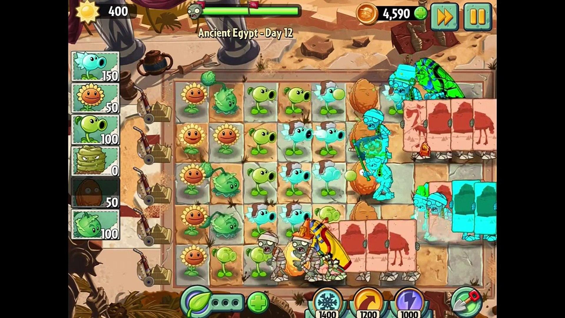 овощи против зомби 2 игра египед часть 4 заключительная # 2