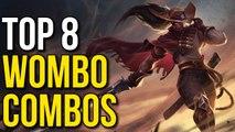 Top 8 Wombo Combos 2015 (League of Legends)
