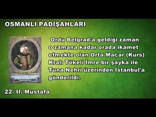 22 - II. Mustafa