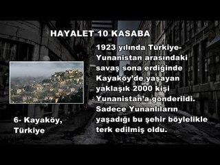 Hayalet 10 Kasaba