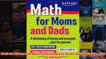 Download PDF  Math for Moms and Dads A dictionary of terms and conceptsjust for parents FULL FREE