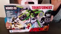 KRE-O Transformers Toy Opening/Play-Along and Build! Kre-O Transformers Age of Extinction