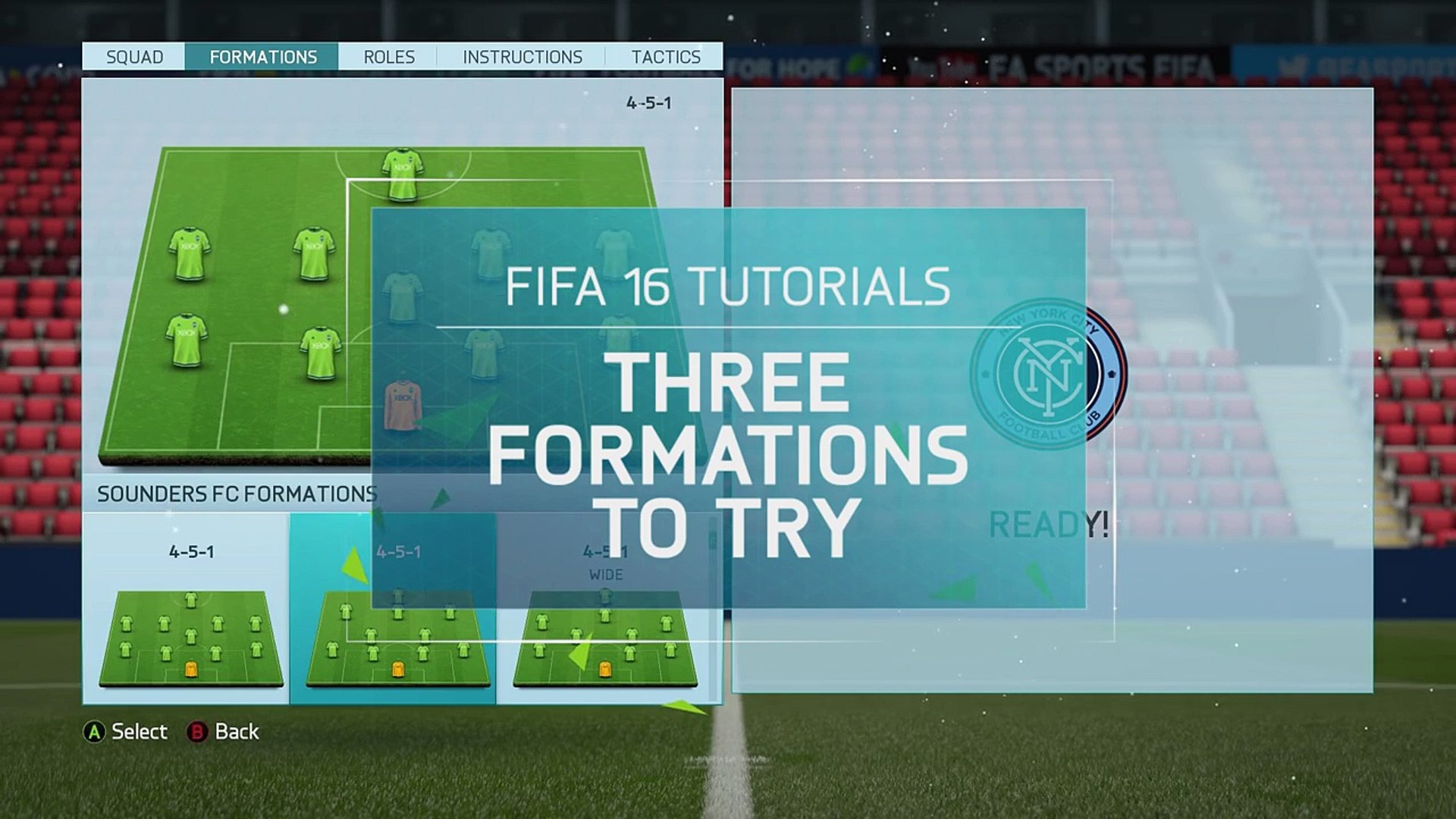 FIFA 16 Tutorials - Formations