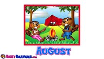 Months of the Year Chant | Calendar Learning Song, Childrens Easy English, Daycare Education