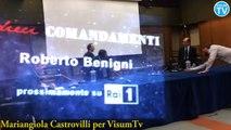 I dieci Comandamenti su Raiuno con il premio Oscar Roberto Benigni