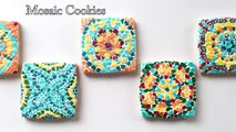 How to How can - How To Decorate Mosaic Cookies , How to , How can , WHat , where , why- How to How can  - Dailymotion