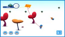 Pocoyo Driving Kite Game NEW 2014 We Are Going to Fly The Kite, Pocoyo!