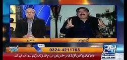 Mein apka interview ker raha hon ap mera nahi ker rahe, agar aisa hota tu mein apko jawab daita - Arif Nizami to Sheikh