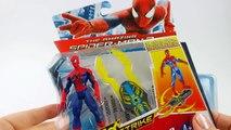 Spiderman en italien! Jouets! Boîte de jeu de Moto BMW boîte, Spiderman jeu - 2016