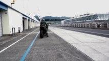 2015 Kawasaki Ninja H2R On Track