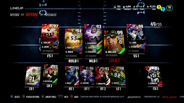Madden 16 Ultimate Team - Brooks & Von Miller Debut! Gameplay