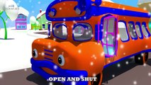 Wheels on the Bus Collection | Red Bus Song | Blue Bus Song | Green Bus Song | Orange Bus Song