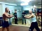 Разборки , Бокс против Тайского спорта! flv