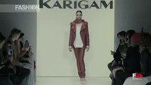 KARIGAM Highlights Fall 2016 New York Fashion Week by Fashion Channel