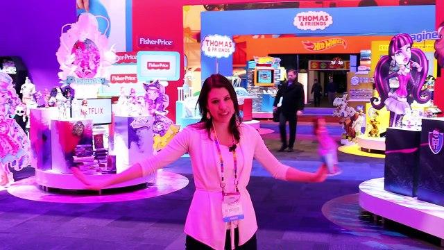 NEW Barbie Disney Frozen Elsa & Anna 2015 Toys ❤ Toy Fair Barbie Dream House DisneyCarToys