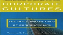 Read Corporate Cultures  The Rites and Rituals of Corporate Life Ebook pdf download