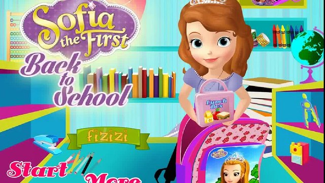 Disney Princess Games - Sofia Back To School – Best Disney Games For Kids Sofia The First