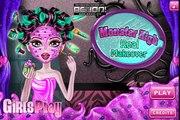 Monster High Games - Monster High Real Makeover - Best Monster High Games For Girls And Kids