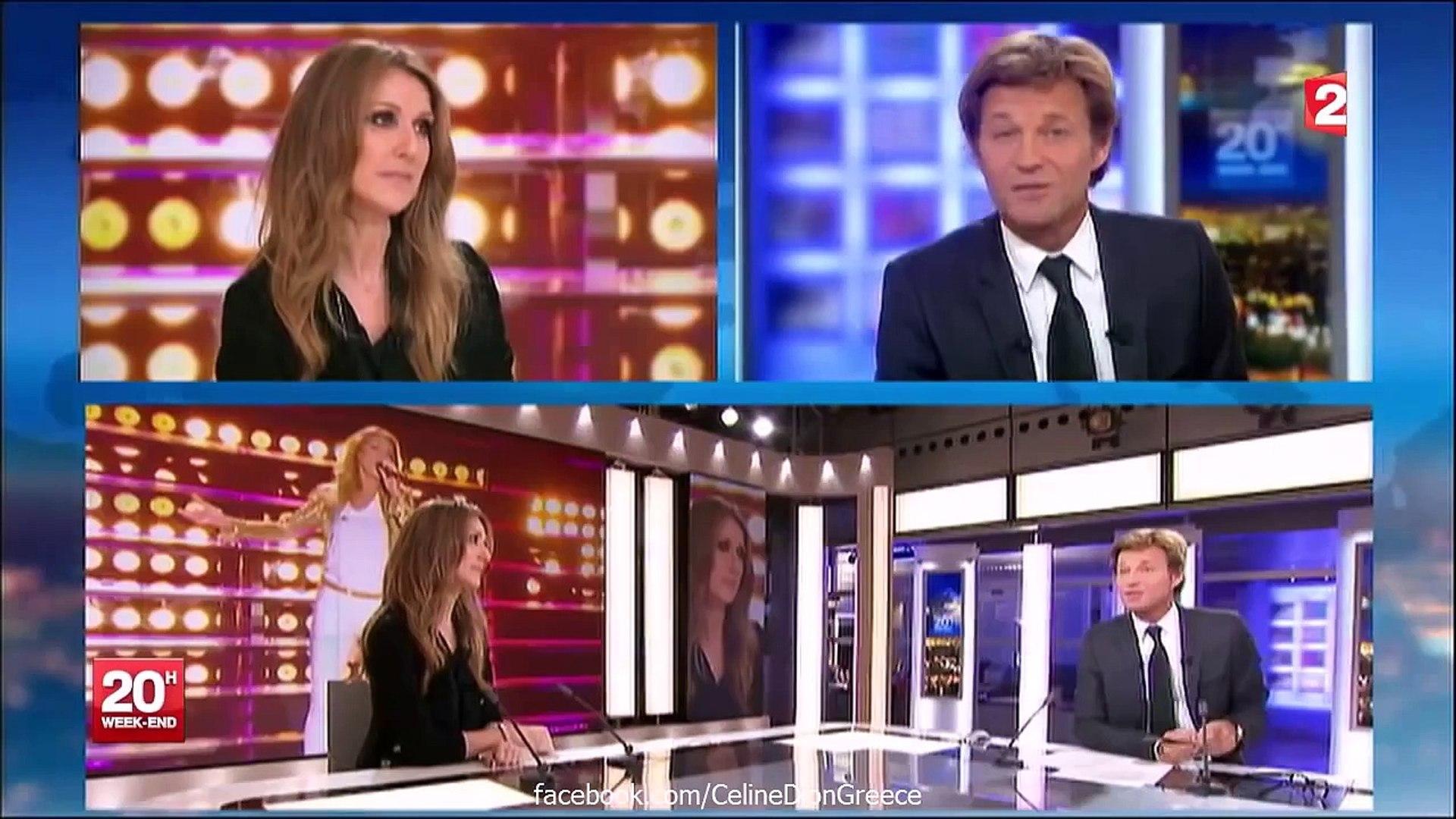 Celine Dion Interview on France 2 News (16_11_2013 HD)