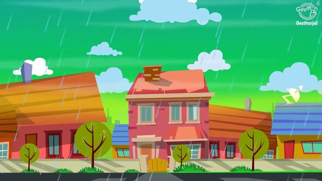 Rain Rain Go Away Nursery Rhyme With Lyrics - Cartoon Animation Rhymes And Songs For Children