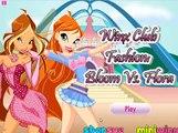 Winx Club - Dark Stella,Musa and Bloom VS Layla,Tecna and Flora