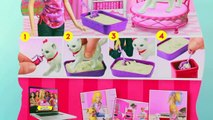 Barbie Potty Trainin Blissa Kitty Cat Review Pees Poop Play-Doh Food AllToyCollector
