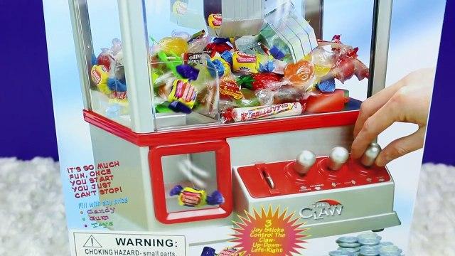 THE CLAW Surprise Toys Coin Machine With Batman, Transformers, Shopkins & Barbie Toys DisneyCarToys