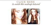 Wedding/prom/party hairstyle with curls for long hair tutorial