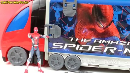 Surprise Eggs Spiderman Toys Marvel
