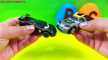 Play Doh Surprise Eggs Cars 2 Toys