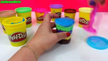 Play Doh Learn How Make Ice Cream Dessert Playdough