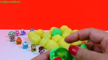 30 Mini Play Doh Surprise Balls Marvel Puppies Ponies Animals Friends Babies
