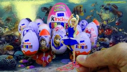 19 Surprise Eggs, FROZEN Masha and the Bear Barbie Hello Kitty Polly Pocket Winx Pixie Disney Zaini