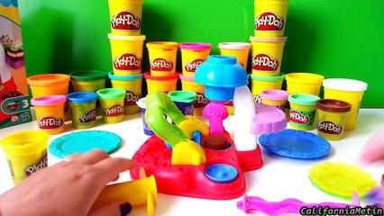 Play Doh Flip n Frost Cookies Playset Sweet Shoppe PlayDough Playset Toys