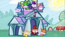 Музыкальные мультики Весёлые Нотки, развивающие мультики от BabyfirstTV, музыка для самых маленьких