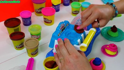 Play Doh Sweet Shoppe Double Desserts Candy Playset Playdough Hasbro Toys Review