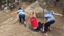 Three Moms Fail At Ziplining-Top Funny Videos-Top Prank Videos-Top Vines Videos-Viral Video-Funny Fails