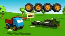 Meraklı kamyon Leo ve yakıt kamyonu eğitici çizgi film Türkçe izle