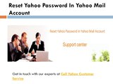 Call Yahoo Customer Service for Yahoo Mail Account Problems